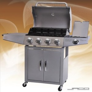 Broilmaster BBQG01DE BBQ Gasgrill 4 plus 1