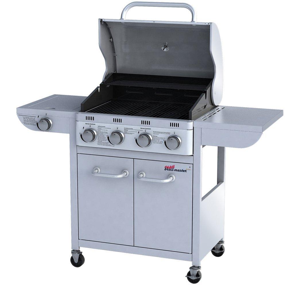 gas grill test broil master bbq 6 1 gasgrill vor und